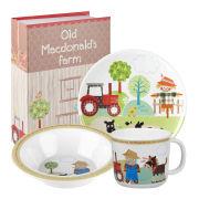 Old MacDonald's Farm 3 Piece Melamine Set