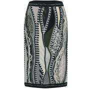 rag & bone Women's RB X Coogi Knit Pencil Skirt - Flynt Green