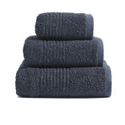 Highams 100% Egyptian Cotton 3 Piece Towel Bale (550gsm) - Charcoal
