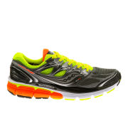 Saucony Mens Hurricane ISO Running Shoes - Grey/Yellow/Orange