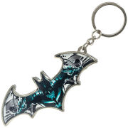 DC Comics Batman Arkham City Metal Dark Knight Keychain