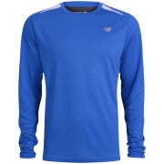 New Balance Men's Momentum Long Sleeve T-Shirt - Vision Blue