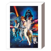Star Wars A New Hope One Sheet B - 50 x 40cm Canvas