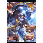Star Wars 30th Anniversary - Maxi Poster - 61 x 91.5cm