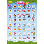 Moshi Monsters Moshlings Tick Chart - Maxi Poster - 61 x 91.5cm