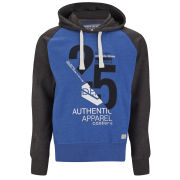 Smith & Jones Men's Novar Hoody - Blue/Charcoal