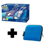 Nintendo 2DS Transparent Blue + Pokémon Alpha Sapphire