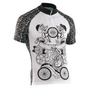 Northwave Men's Tattoo Short Sleeve Jersey - White/Black