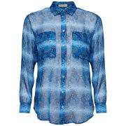Equipment Women's Signature Blouse - Parisian Blue