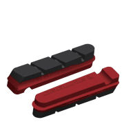 Jagwire Brake Pad Road Pro Wet Insert - Red/Black