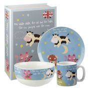 Hey Diddle Diddle 3 Piece Breakfast Set