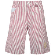 Billionaire Boys Club Men's Sear Sukka Shorts - Lollipop Red/Dusk Blue