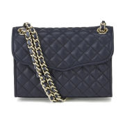 Rebecca Minkoff Quilted Mini Affair Cross Body Bag - Ink