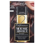 L'Oreal Paris Preference Mousse Absolue - 425 Rich Dark Chocolate