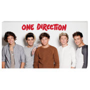 One Direction Band - 30 x 55cm Value Canvas
