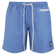 Crosshatch Men's Chatsworth Swim Shorts - Blue
