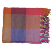 Avoca Cashmere Silken Throw (142 x 100cm) - Multi