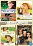 Atonement/The Age of Innocence/Pride & Prejudice/Sense & Sensibility