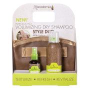 Macadamia Natural Oil Volumizing Dry Shampoo Style Duo with Clutch Bag