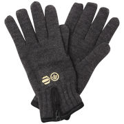 Crosshatch Men's Zipline Thinsulate Gloves - Charcoal Marl