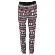 Vero Moda Women's Aztec Print Trousers - Red