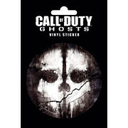 Call of Duty Ghosts Skull - Vinyl Sticker - 10 x 15cm