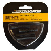 Jagwire Cable Tube Open Tops - Black (x4)