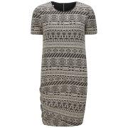 ba&sh Women's Sarrasine Printed Mini Dress - Ecru