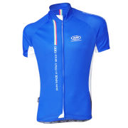 Pella Mortirolo Short Sleeve Cycling Jersey - Blue
