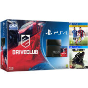 Sony PS4 500GB With Driveclub + Call of Duty: Advanced Warfare + FIFA 15 Ultimate Team Edition