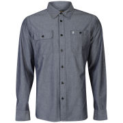 Farah 1920 Men's Ardleigh Shirt - Navy/Chambray