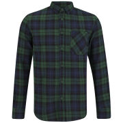 Soul Star Men's Troops Check Shirt - Green