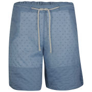 Chloe Women's Rope Tie Shorts - Blue