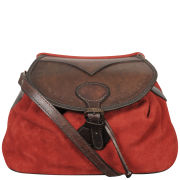 Beara Beara Tomina Leather Shoulder Bag - Red