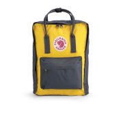 Fjallraven Kanken Backpack - Navy/Yellow