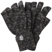 Smith & Jones Men's Erratica Twist Fingerless Gloves - Black Mix - One Size