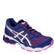 Asics Women's Gel-Pulse Running Trainers - Twilight Blue/White/Pink