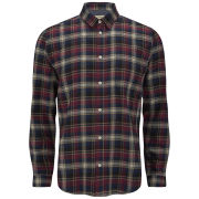 Suit Men's Poul Check Shirt - Red/Navy