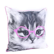 Malini Purrfect Print Cushion