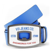 Voi Men's Checo Leather Belt - Cobalt