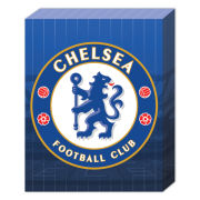 Chelsea Club Crest - 40 x 30cm Canvas