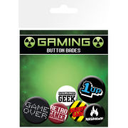 Gaming Retro Gamer - Badge Pack
