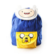Adventure Time Logo With Eyes Backpack