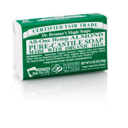 Dr. Bronner Organic Almond Castile Liquid Soap (473ml)