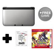 Nintendo 3DS XL Silver/Black Pokémon Omega Ruby Pack
