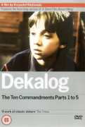 DEKALOG  THE TEN COMMANDMENTS PARTS 1 TO 5 (DVD)