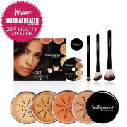 Bellapierre Cosmetics Get Started Kit Medium (Worth £154.97)