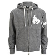 Money Men's Melange Zip Hoody - Black