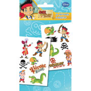 Jake and the Neverland Pirates Characters - Tattoo Pack