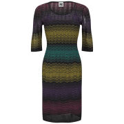 M Missoni Women's Basic Knitted Dress - Nero
